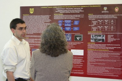 Frank Ferraro presenting his research at Senior Design Day '11