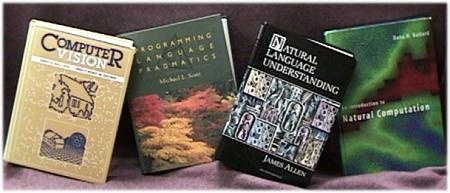 Selected textbooks by faculty